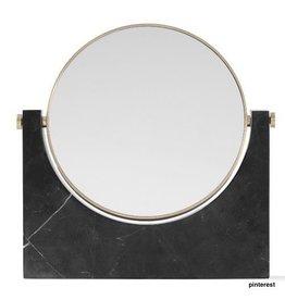Marble Mirror - zwart
