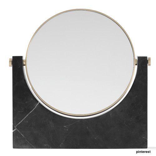 Marble Mirror - zwart marmer