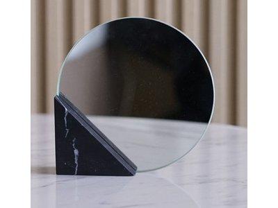Triangle Marble Mirror - zwart marmer