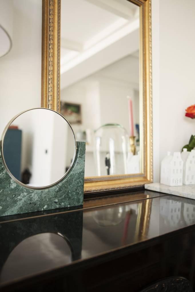 Marble Mirror - donkergroen marmer