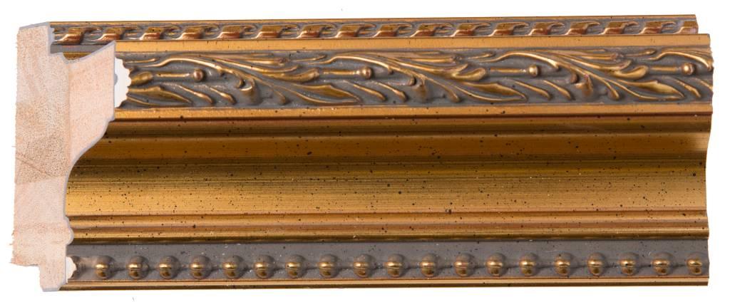 Pizzo -Italiaanse Barok Lijst - Goud Gekleurd