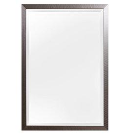 Mariotto - spiegel - geborsteld RVS look