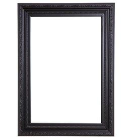 Valence - sfeervolle zwarte lijst met ornament