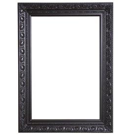 Savona - zwarte barok lijst met ornament