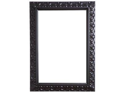 Padua - zwarte barok lijst 60x120 cm
