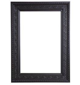 La Spezia - unieke zwarte barok lijst van hout