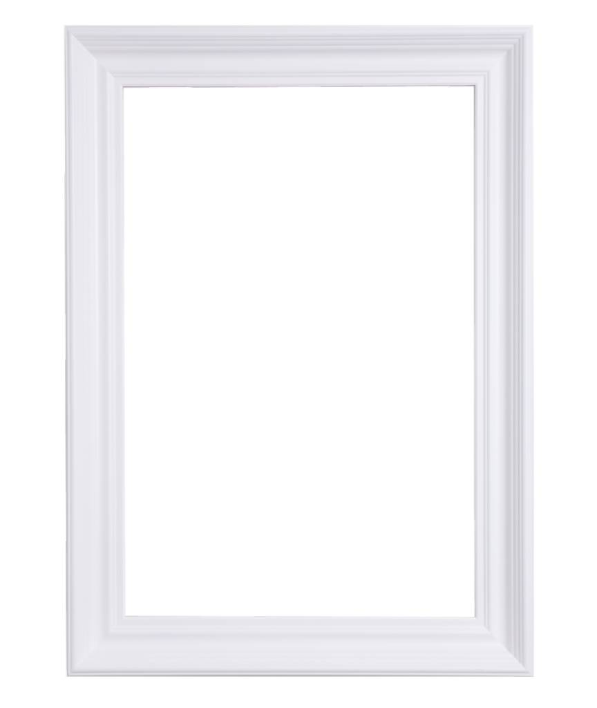 Brescia - sfeervolle witte moderne lijst