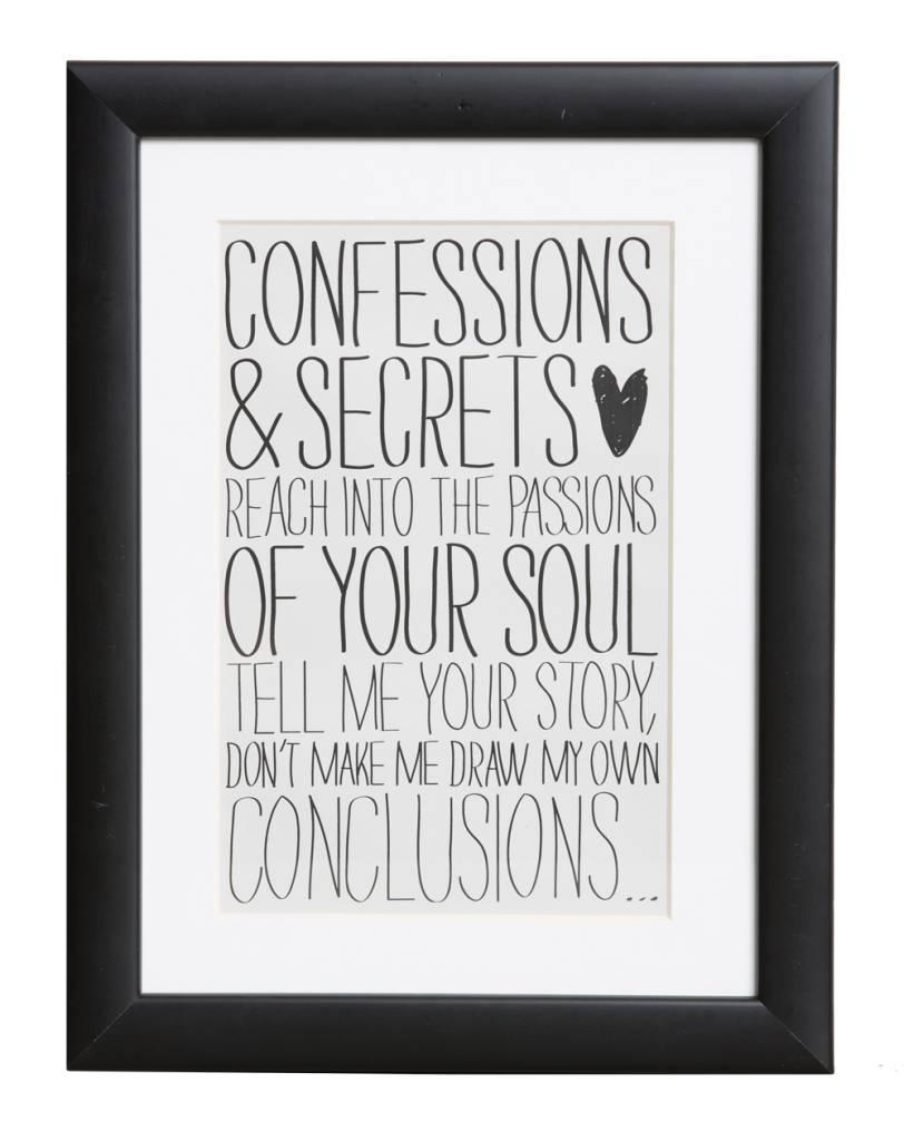 Confessions & Secrets