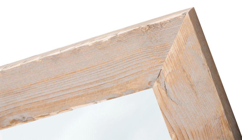 Wood - spiegel - geschuurd steigerhout