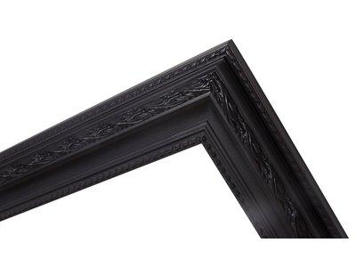 Pizzo - Italiaanse Barok Lijst - Zwart Gekleurd