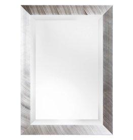 Amsterdam - spiegel - geborsteld zilver