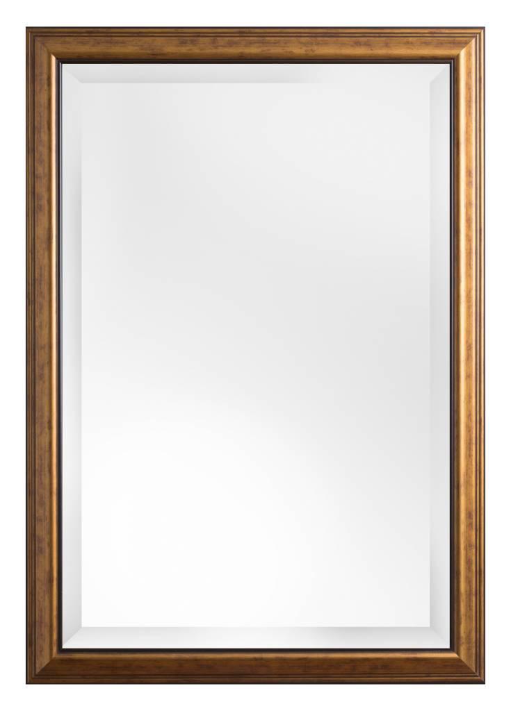 Rieti - spiegel - goudbruin