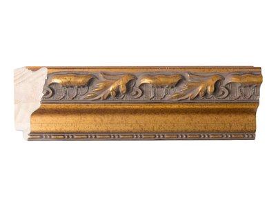 Bonalino - Barok Lijst met Bladpatroon - Goud Gekleurd
