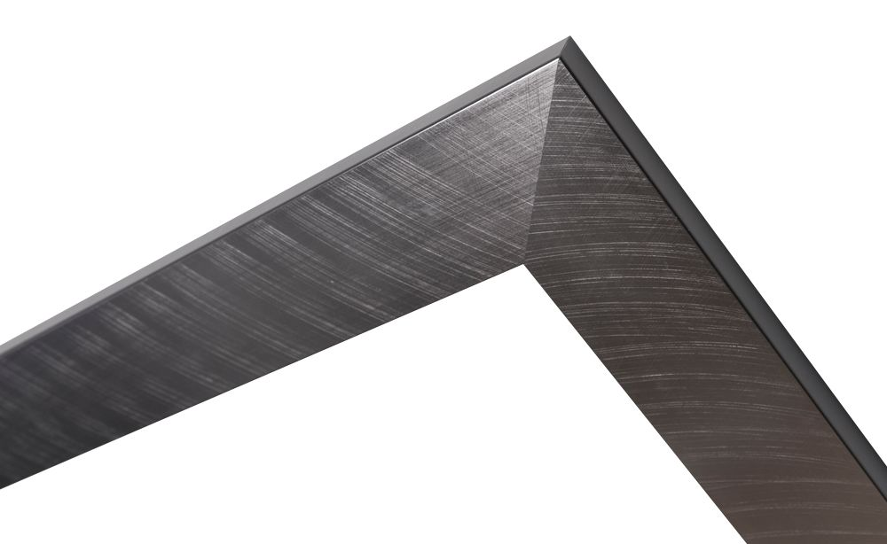 Torino - moderne lijst met RVS look