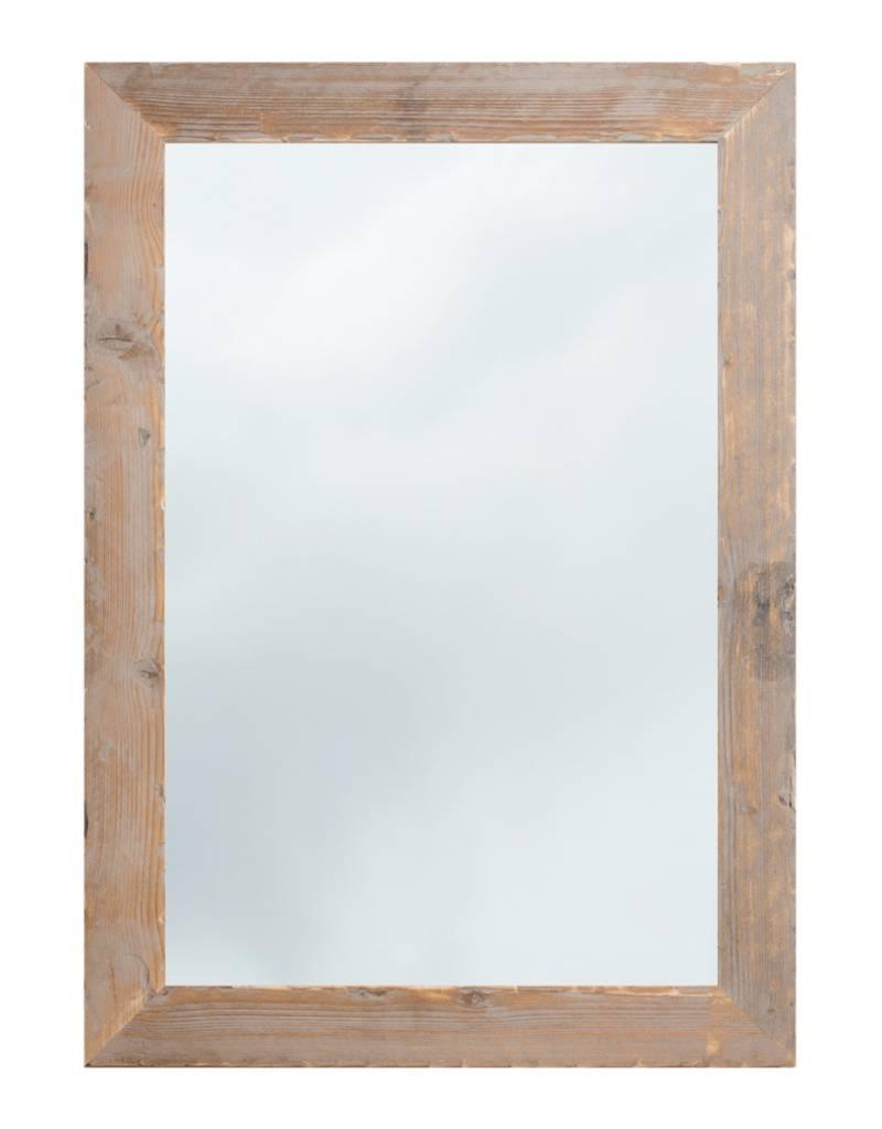 Spiegel Houten Lijst.Wood Geschuurde Steigerhouten Spiegel