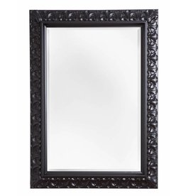 Padua - spiegel - zwart