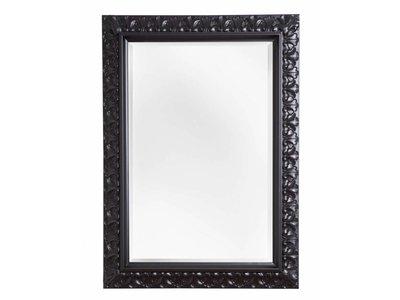 Padua - spiegel - zwart 80x140 cm