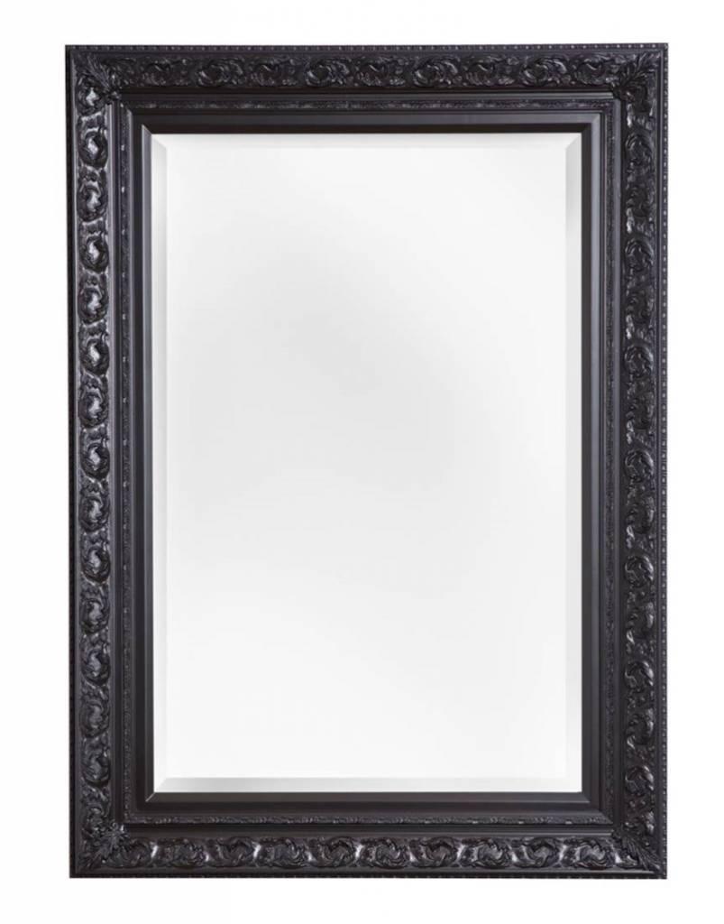 Zwarte Brocante Spiegel.Savona Spiegel Met Zwarte Brocante Lijst