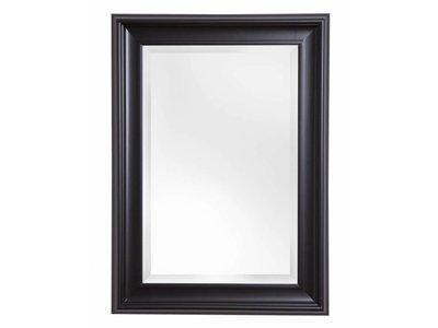 Foggia - spiegel - zwart