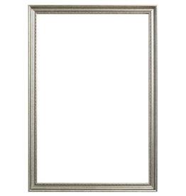 Bologna - Stijvolle Houten Lijst - Kleur Zilver