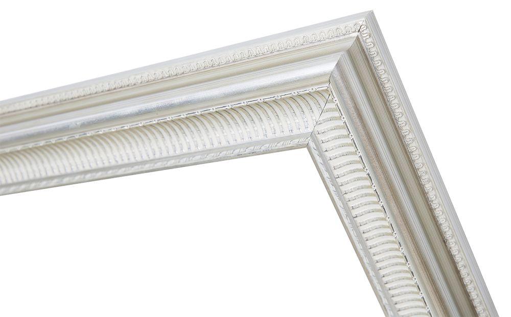 Sicilia - elegante zilveren lijst van hout
