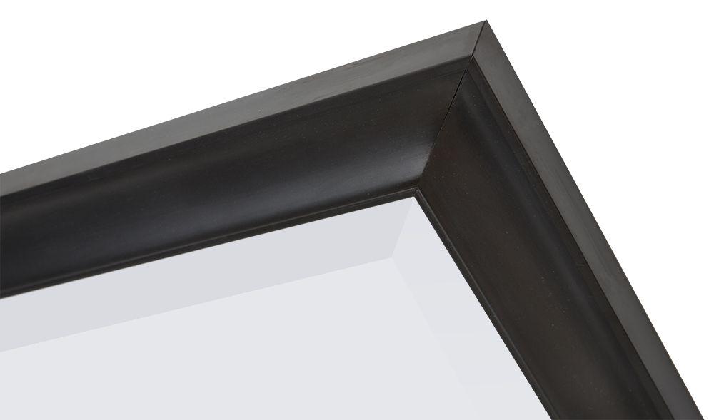 Haarlem - spiegel - zwart