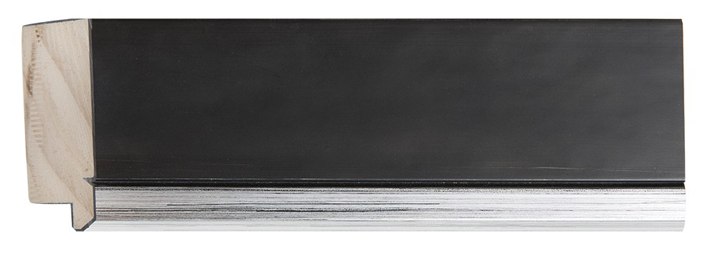 Modena - Zwart-Zilver