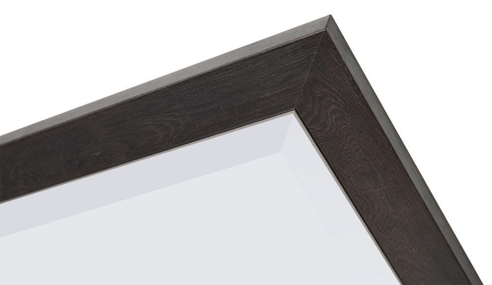 Rimini Grande -spiegel - donkerbruin hout
