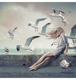 Mysterieuze Zee - Fotografisch Kunstwerk op Plexiglas