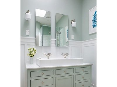 Rechthoekige  of Vierkante Spiegel  zonder lijst