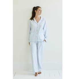 Yawn Yawn - Pyjama Set, Blue Chambray