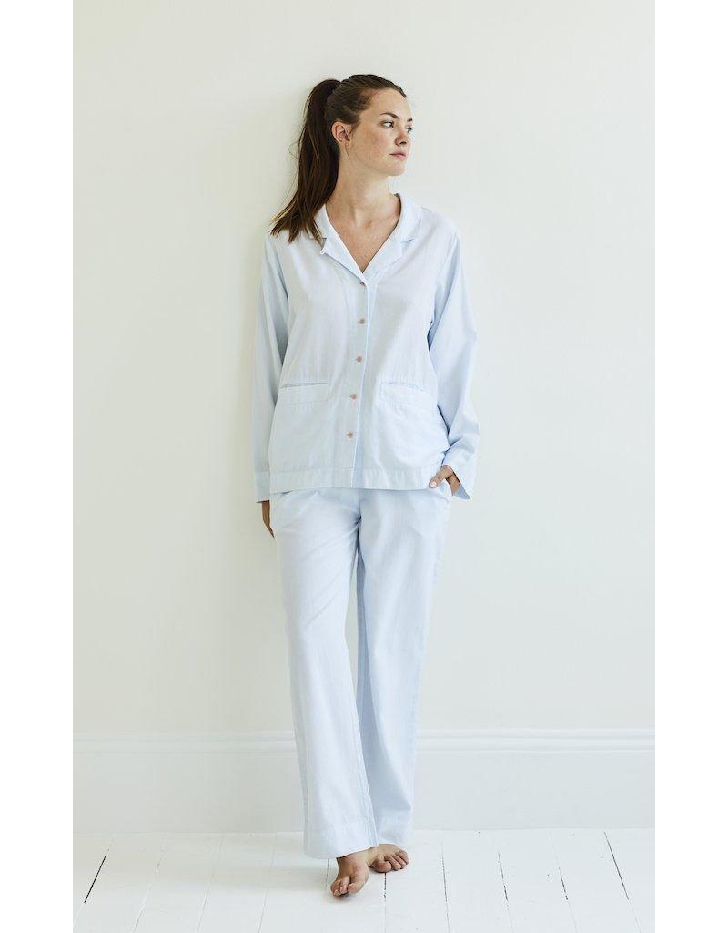 Yawn Yawn - Pyjama Set, Blue Chambray