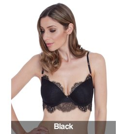 Lepel Lepel London - Alex  Padded Plunge Bra Black