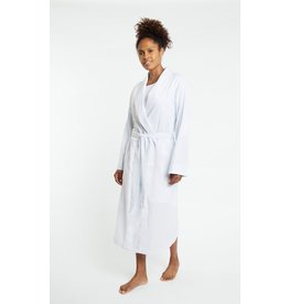 Yawn Yawn - Cotton Robe, Blue Chambray