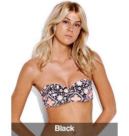 Seafolly Seafolly - Inka Gypsy Bikini  Bandeau Top, Black