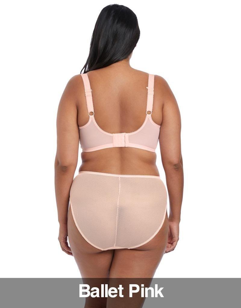Elomi Elomi - Charley  UW Plunge Stretch Bra, Ballet Pink