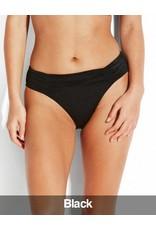 Seafolly Seafolly - Shine On Bikini Gathered Front Retro Pants, Black