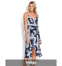 Seafolly Seafolly - Splendour Wrap Midi Dress, Indigo