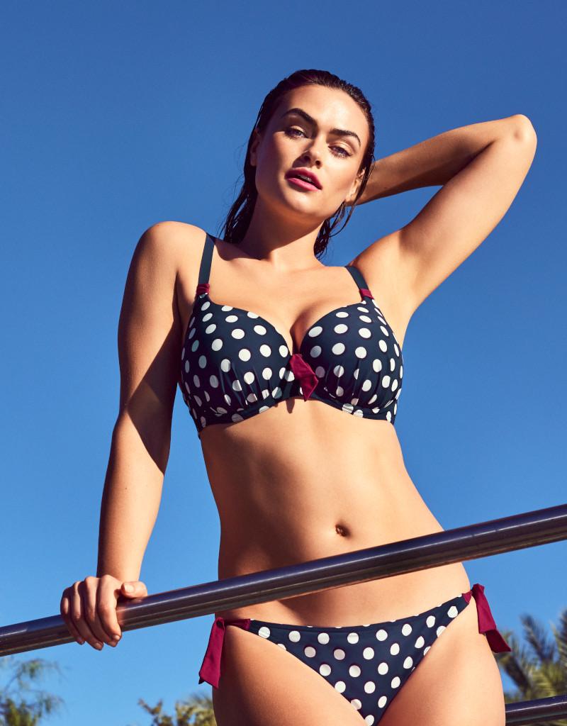 PrimaDonna Swim PrimaDonna Swim - Pop Bikini  Full Cup Padded Top, Blue Eclipse