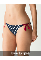 PrimaDonna Swim PrimaDonna Swim - Pop Bikini Brief with Waist Ropes, Blue Eclipse