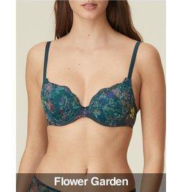 Marie Jo Marie Jo - Alice  Heart Shaped Padded Bra, Flower Garden