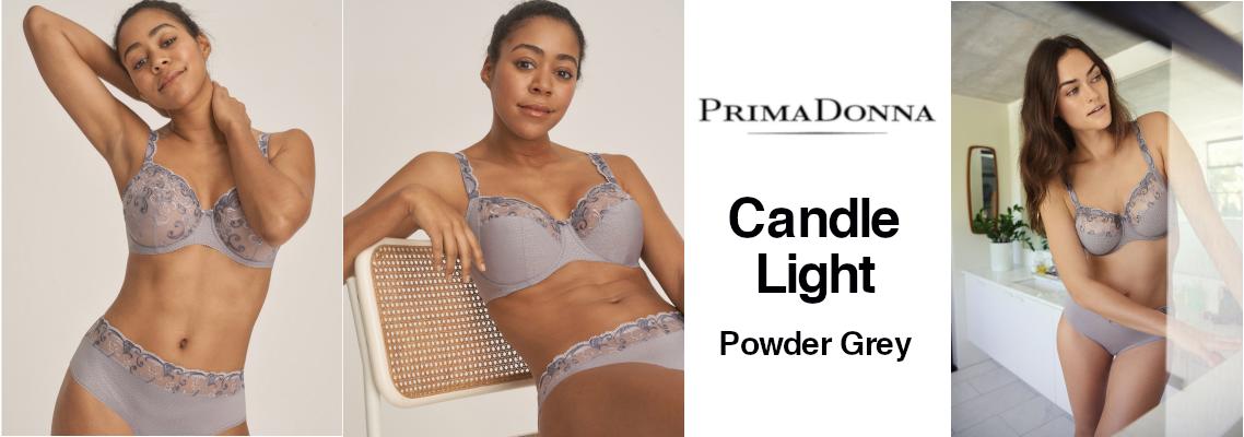 2019 08 19 - PrimaDonna - Candle Light - Powder Grey