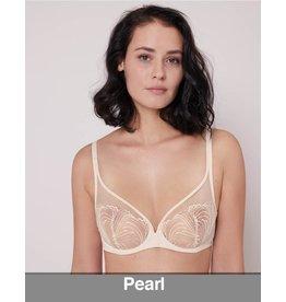 Simone Perele Simone Perele - Nuance  Plunge Full Cup Bra, Pearl