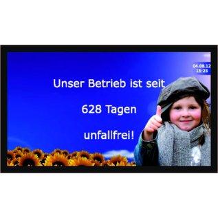 """GA-LCD Monitor Set 55"""", 4K,   24/7 monitor 500 cd/m2          Direkt-LAN von Solarlog, SMA,  Fronius Symo, Galvo, Agilo direkt LAN"""