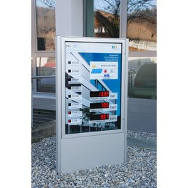 GA-1583vi_WS cluster, vitrine with LED cluster | Price on request