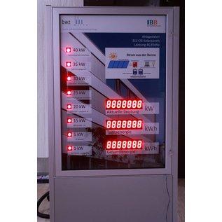 GA-1583vi_WS cluster, Werbestehle mit Cluster-LEDs