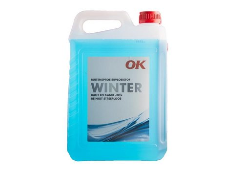 OK Ruitensproeiervloeistof Winter (Kant en Klaar), 5 lt