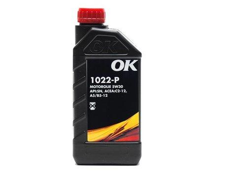 OK 5W-30 motorolie 1022-P- SAE 5W30, flacon 1 liter