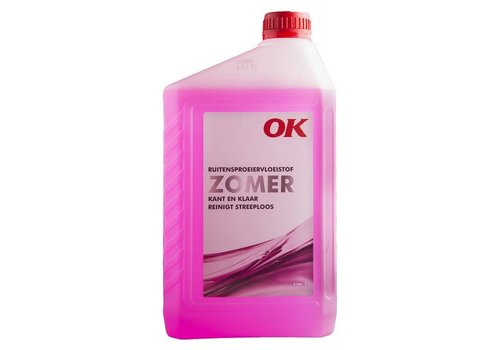 OK Ruitensproeiervloeistof Zomer (Kant en Klaar), 2 lt
