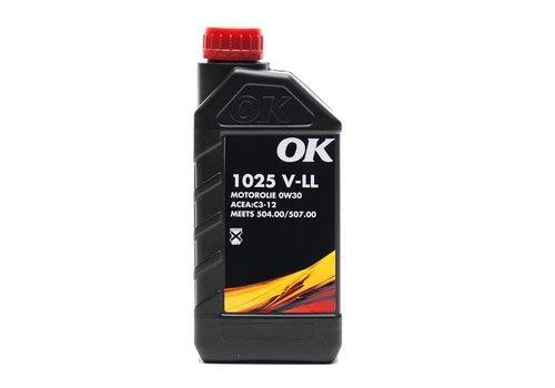 OK 0W-30 motorolie 1025 V-LL 0W30, doos, 12x1 liter